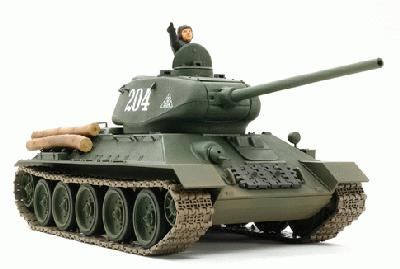 TAMIYA 89569 RUSSIAN MEDIUM TANK T-34 TYPE 85 1:25
