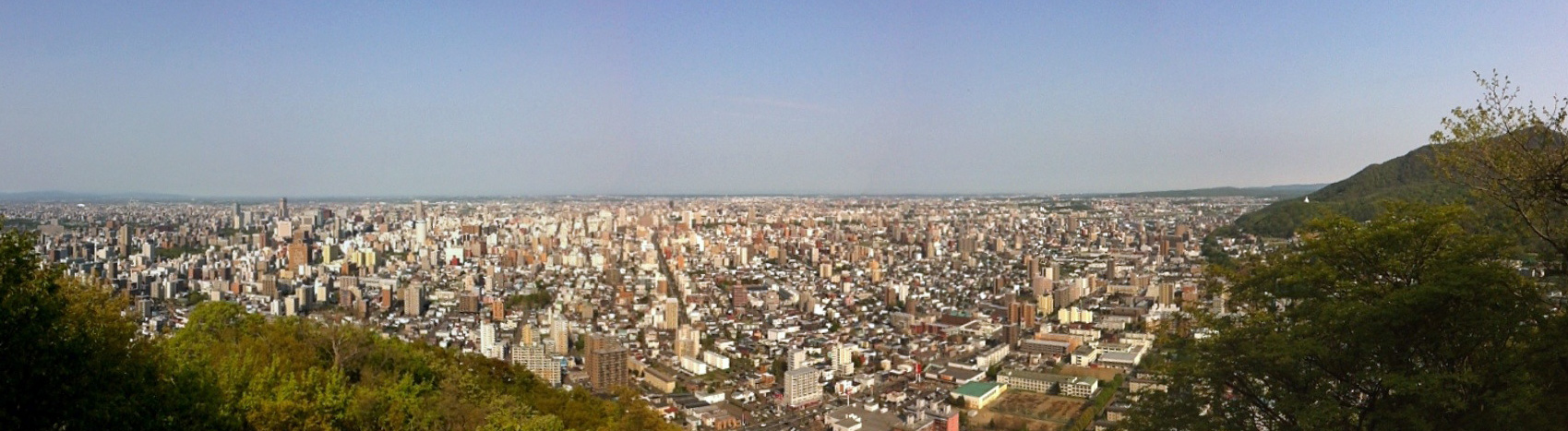円山から札幌