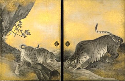 水呑みの虎