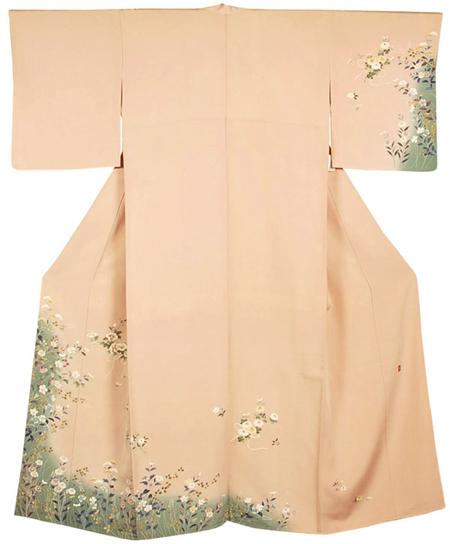特価品の美しい着物
