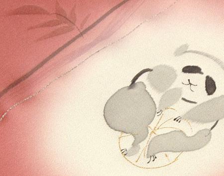 パンダの反物