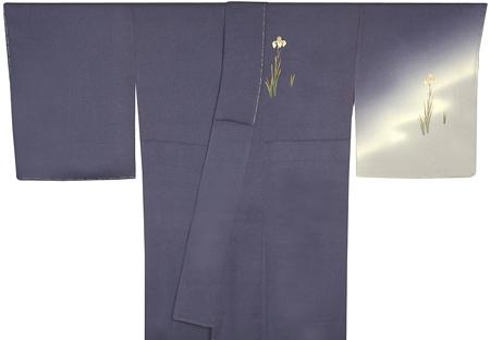 0128付け下げ着物と袋帯セット