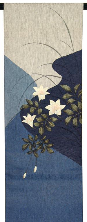 夏正絹袋帯
