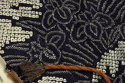 総絞り羽織