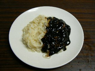 チャジャン麺②