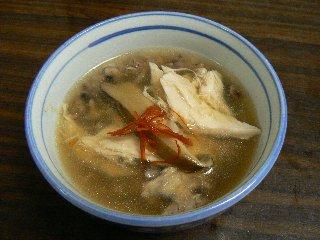 雑穀参鶏湯⑤