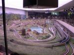 交通科学博物館名物、巨大鉄道模型レイアウト