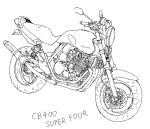 CB400 SUPER_FOUR