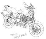 CB400 SUPER_FOUR