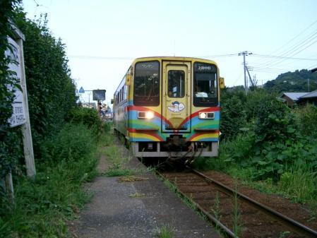 いすみ鐵道 西大原駅 2005-8