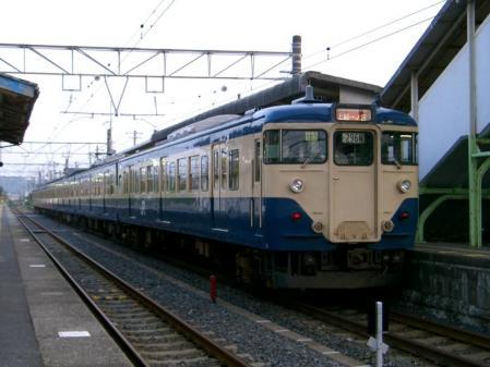 113系 S67編成 大原駅 2005-8