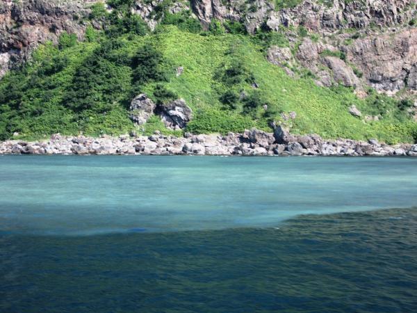 カムイワッカの滝4