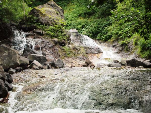 カムイワッカ湯の滝4