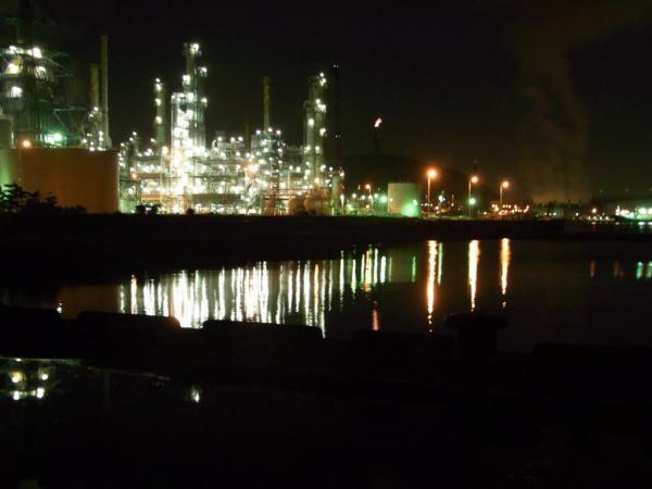 室蘭工場夜景1