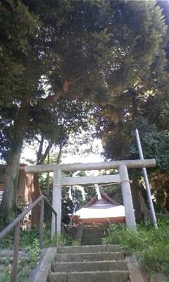 鹿島神社の石段
