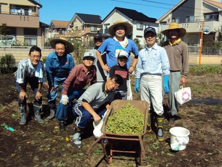 枝豆と参加者