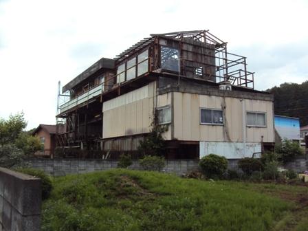 福島原発建屋