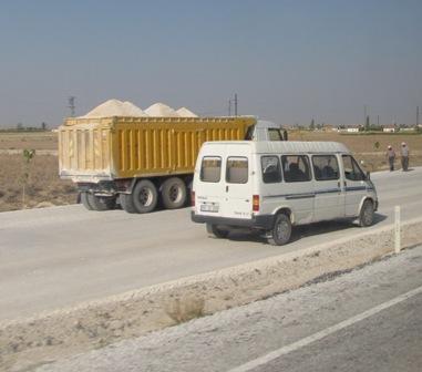 工事中の道路