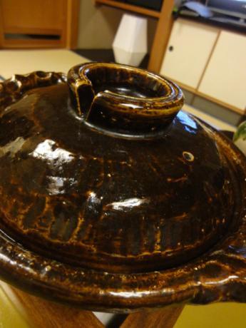大きな土鍋!