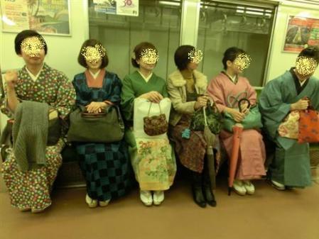 地下鉄にて!その2
