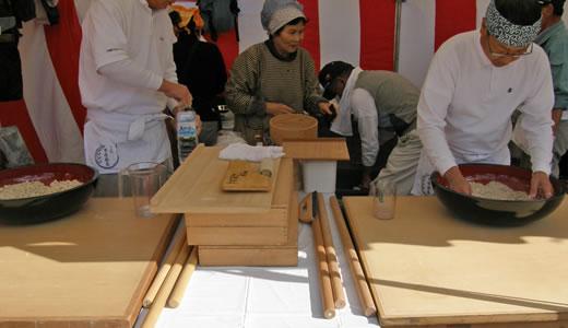 みのりの祭典2009・大沢町市原そば会-1