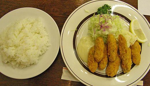 洋食 いくた のカキフライ-1