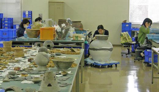 神戸の文化財めぐり2009・埋蔵文化財センター-3