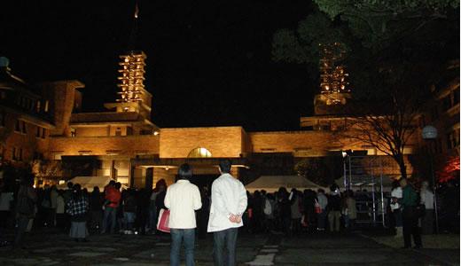 甲子園会館ライトアップ2009-1