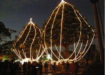 甲子園会館ライトアップ2009-4