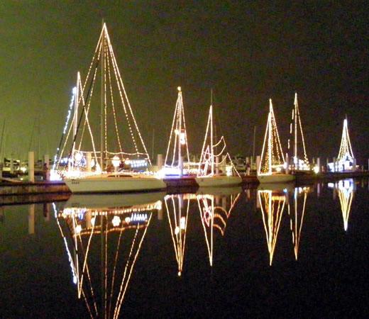 新西宮ヨットハーバー クリスマスイルミネーション2009-1