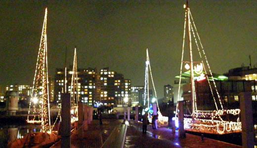 新西宮ヨットハーバー クリスマスイルミネーション2009-2