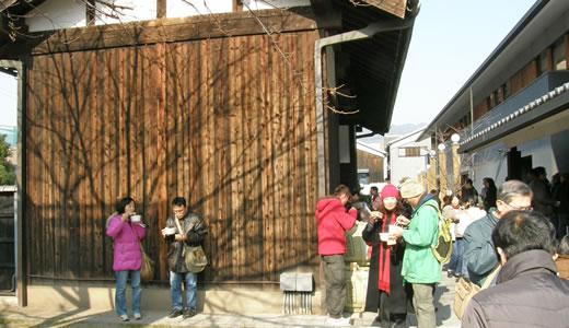 櫻正宗・櫻宴新春鏡開き2010-3