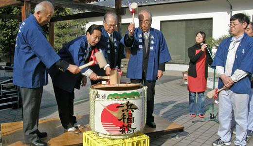 浜福鶴吟醸工房初しぼり会2010-1