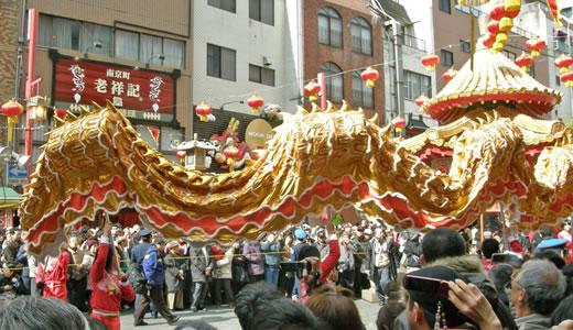 神戸南京町春節祭2010前夜祭-1