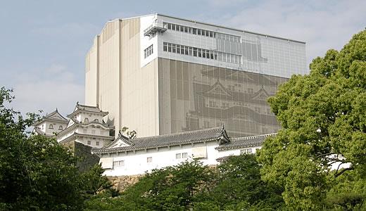 姫路城 大天守平成の大修理中-2