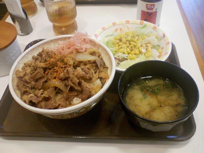 今日のお昼ご飯と新長田