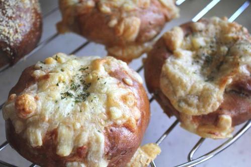 20100521クルミとチーズのベーグル2