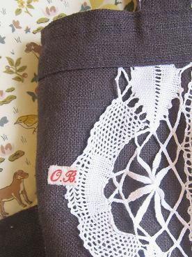 ③両面一ヶ所で縫い留める2