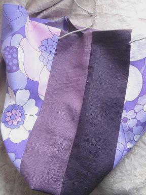 ⑨紫リネンの色の違い