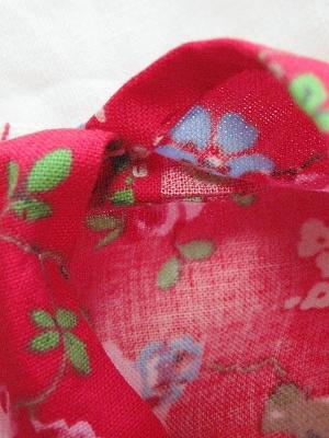 ⑤袋縫いバード