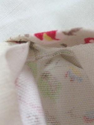 ⑦袋縫いサマーブロッサム
