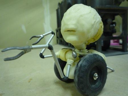 コマ撮り人形
