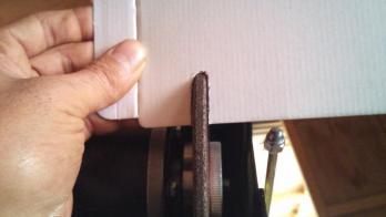 研磨盤の形状