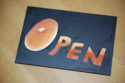 OPEN/CLOSE プレート