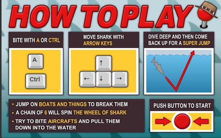 Sydney Shark how to