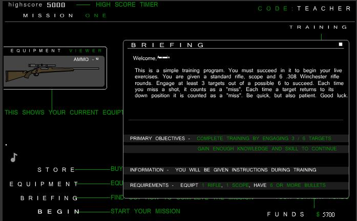 Tactical Assassin 2 briefing