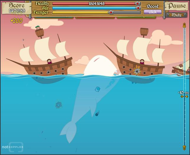 Moby Dick - The Video Game