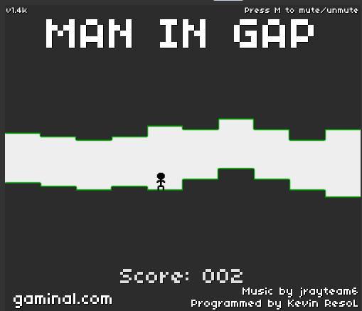 Man in gap 1