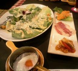 salad egg apperitif
