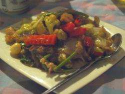 タイ料理野菜炒め